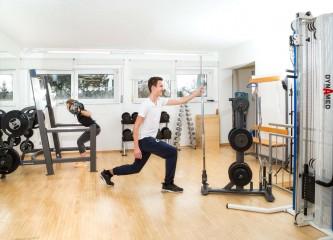 Hanteln zum Muskelaufbau