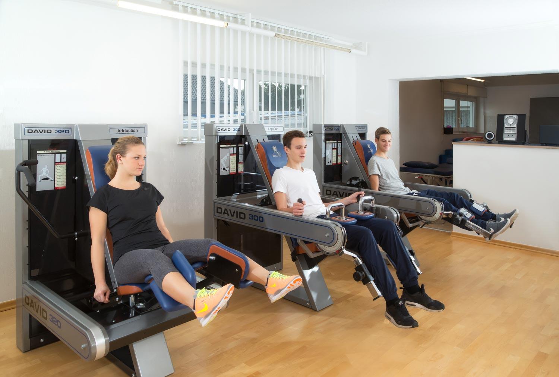 Training & Krankengymnastik