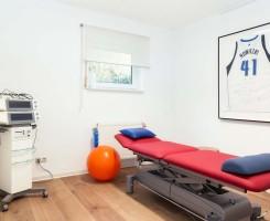Rote Liege für Therapie/Massage